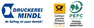 Logo Druckerei Mindl e.K.